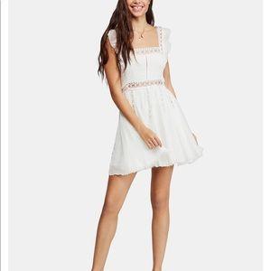 Free People Verona White Lace Dress
